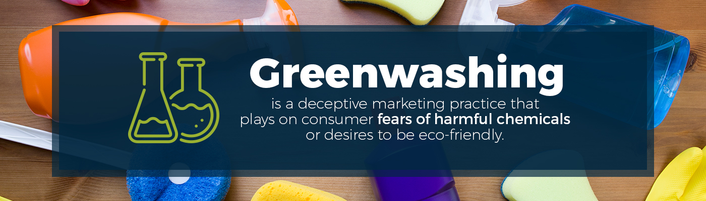Awareness of bad practices with greenwashing