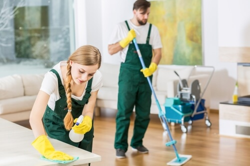 Janitorial Services in an HOA common area