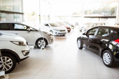 Clean Car Dealership
