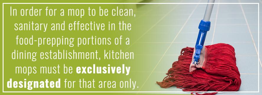 Proper Way to Sanitize a Mop