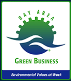 green business badge
