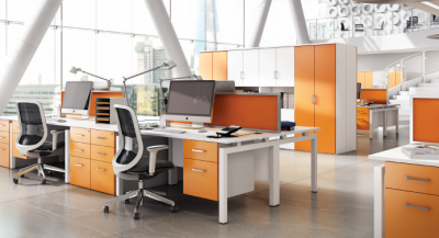 clean office example