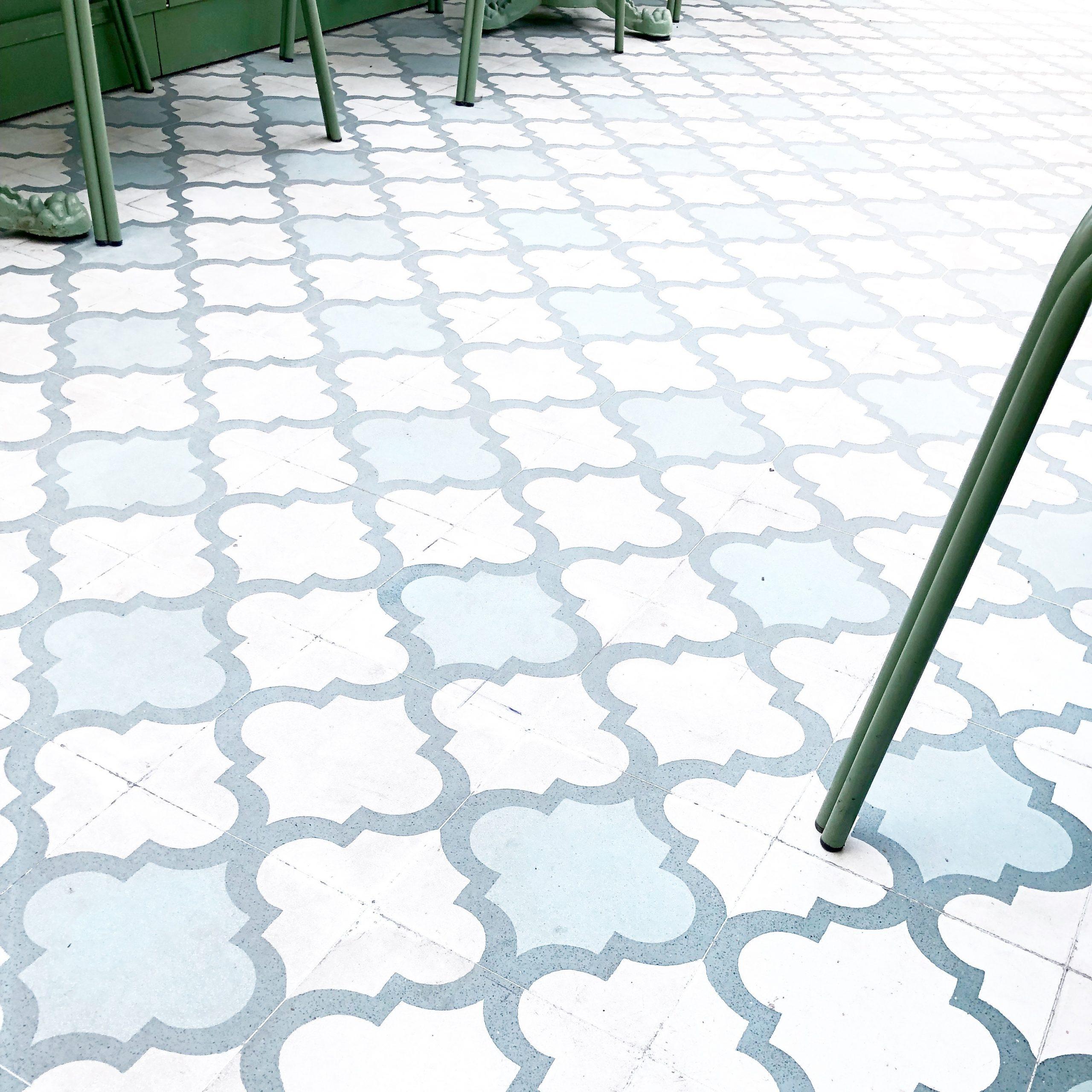 Decorative Tile Floor